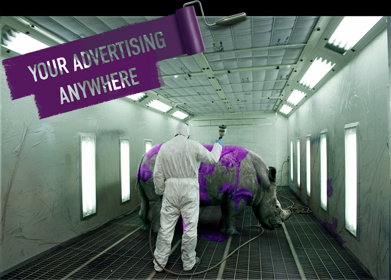 Your advertising anywhere